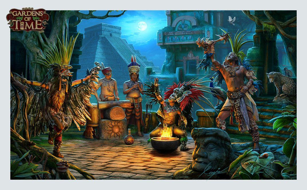ArtStation   Hidden Object Games Backgrounds, RENJU MV