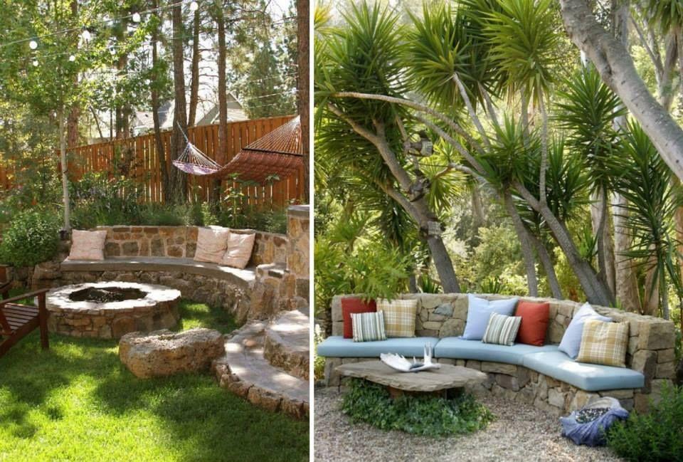 Bancas para jard n plants gardening pinterest m s for Bancas de madera para jardin