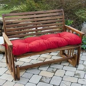 54 In Outdoor Bench Cushion Salsa Kmart For The Home Patio