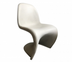 Chaise Vintage De Verner Panton Pour Vitra