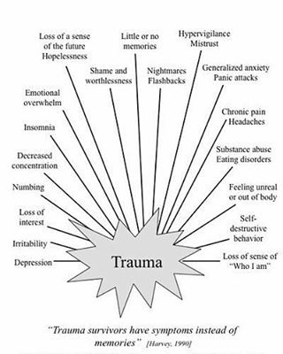 "26 Likes, 1 Comments - The Warrior (@borderlinepersonality.bitch) on Instagram: ""Trauma affects every aspect of your life. #bpd #bpdproblems #borderline…"""