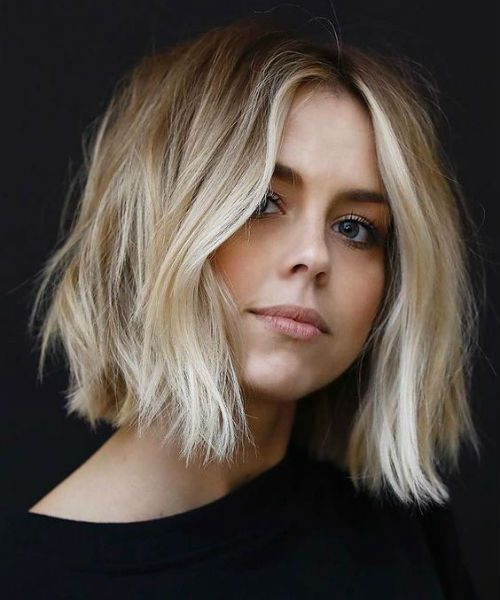 19 Of The Cool And Trendy Short Ombre Hairstyles To Get A Stylish Look Haarschnitt Rundes Gesicht Haarschnitt Frisuren
