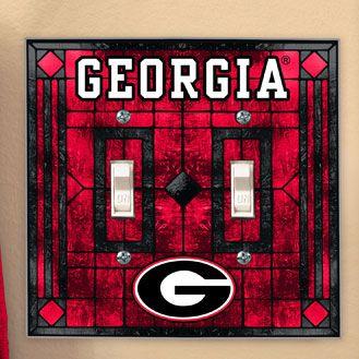 Georgia Bulldog Bedrooms Bedding Room Decor Accessories Uga Bulldogs