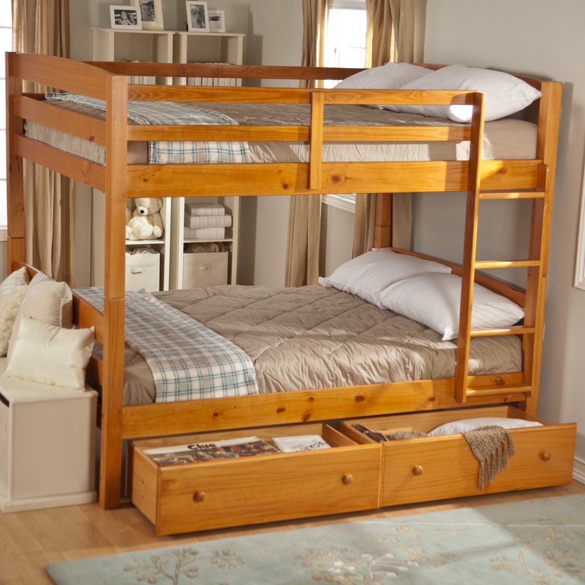 Ethan Full Over Bunk Bed Free Mattresses Beds At