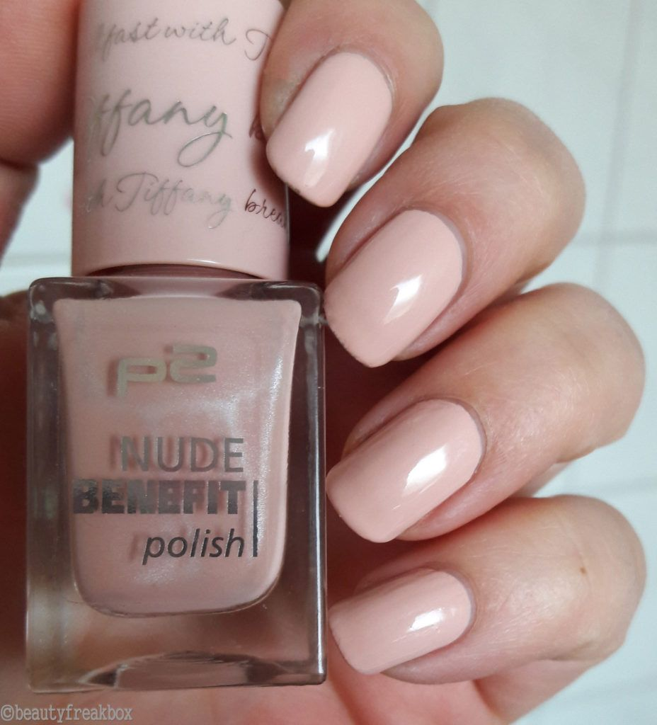 p2 nude benefit polish - 030 breakfast with Tiffany #nagellack ...