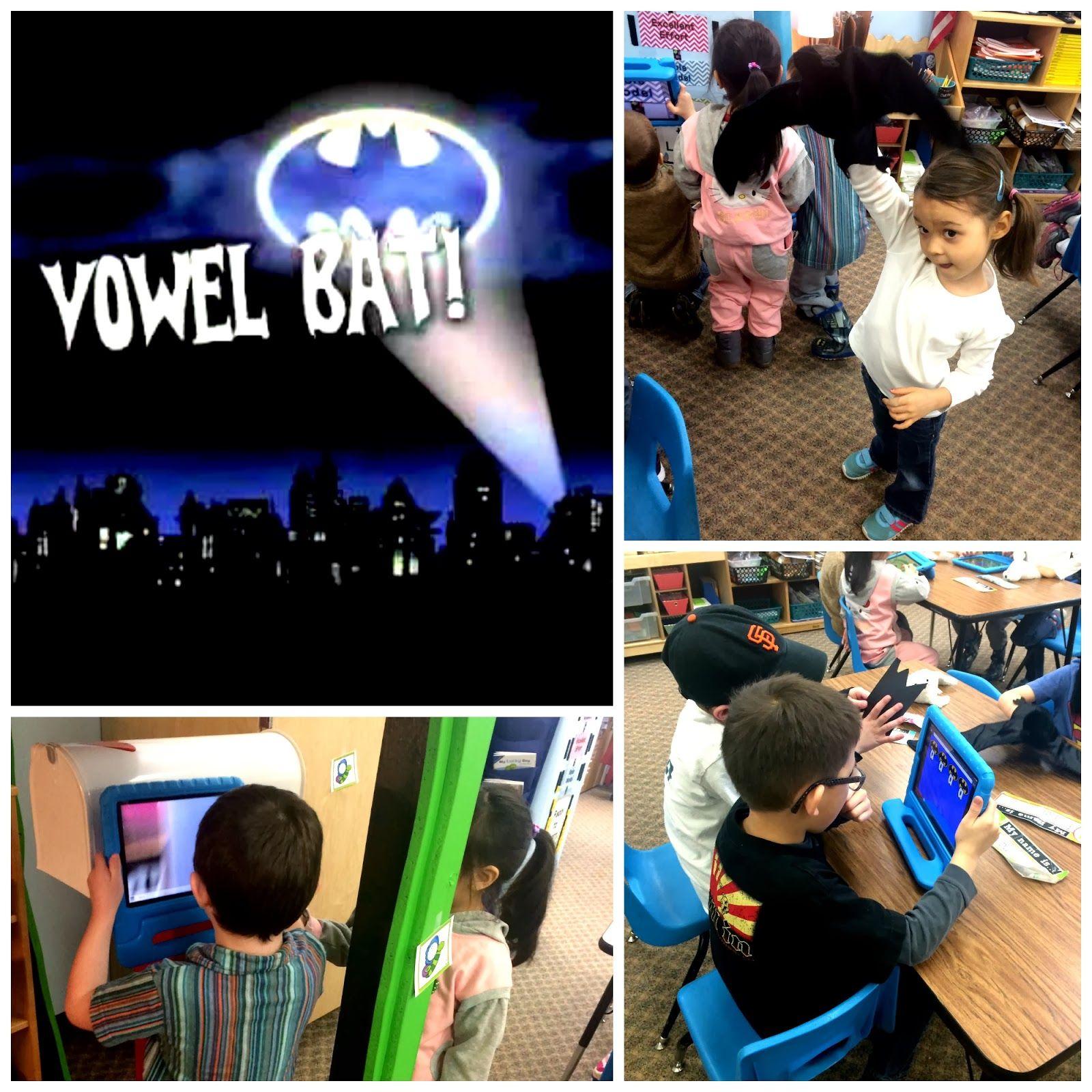 Vowel Bat Center Idea With Images