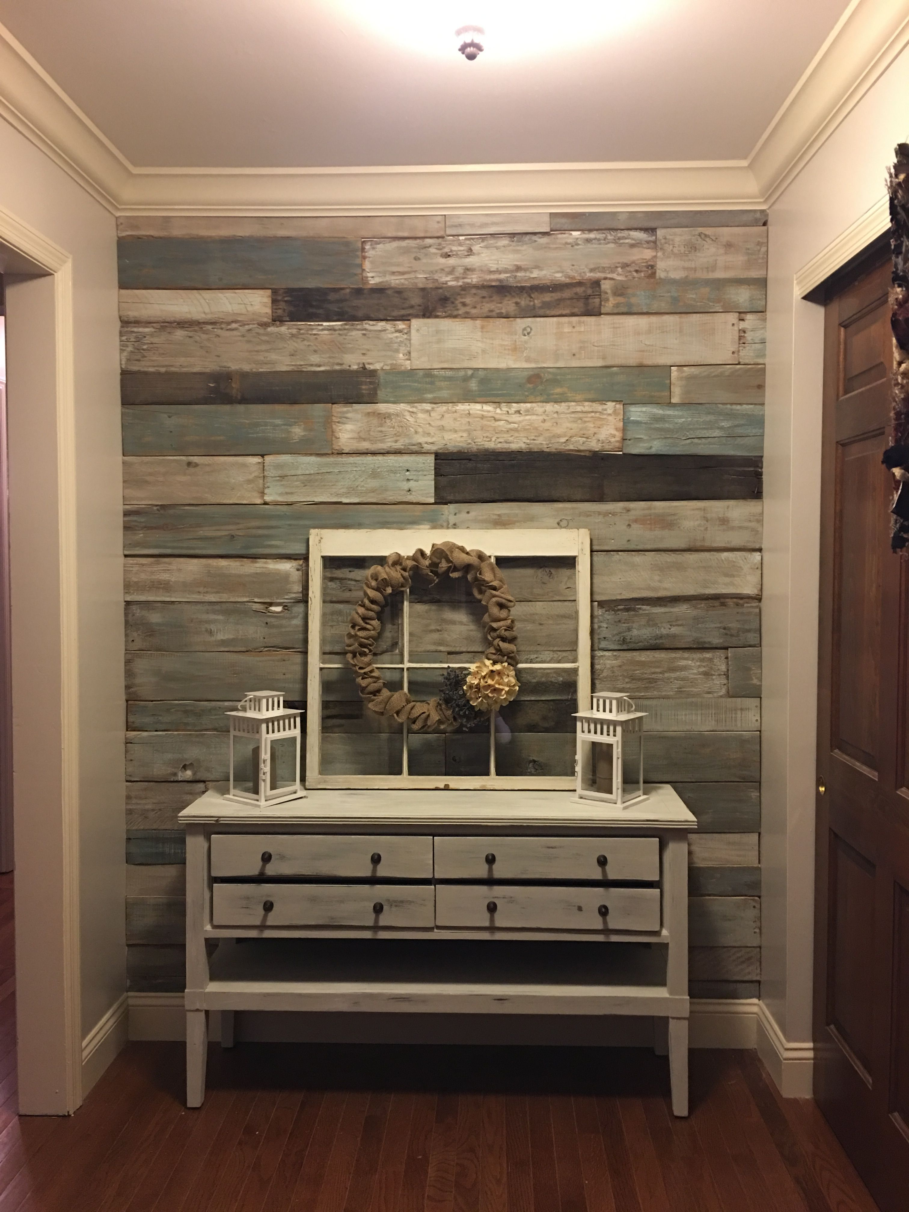 Pin By Jennifer Eiben On For The Home Wood Pallet Wall Wood Pallet Wall Art Unique Home Decor