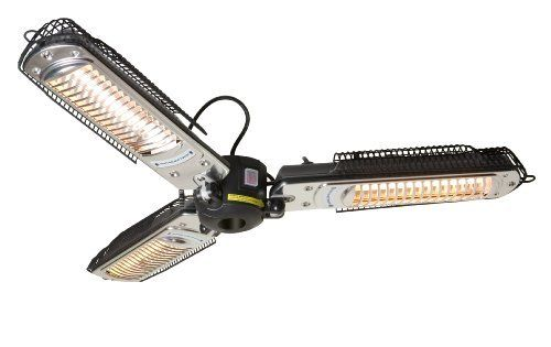 Radiant Parasol Patio Heater By Dimplex