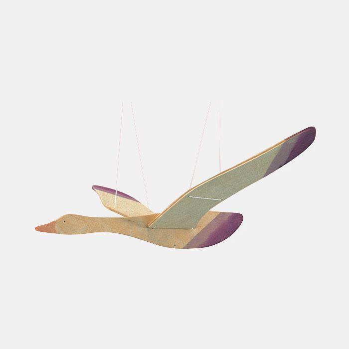 Vogel Holz babymobile aus holz vogel ostheimer for