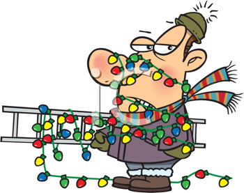 House With Christmas Lights Clipart.Pin On Seasons Holly Jolly Christmas