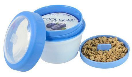 Cool Gear Greek Yogurt Container Assorted Colours Yogurt Cool Gear