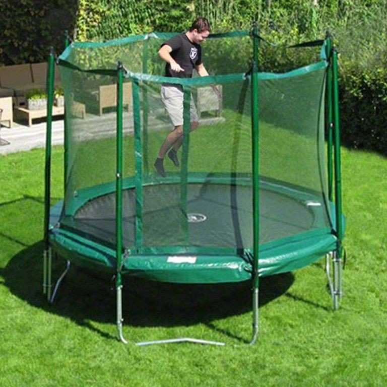 Exterior Traditional 14 Ft Trampoline At Walmart From 14 Ft