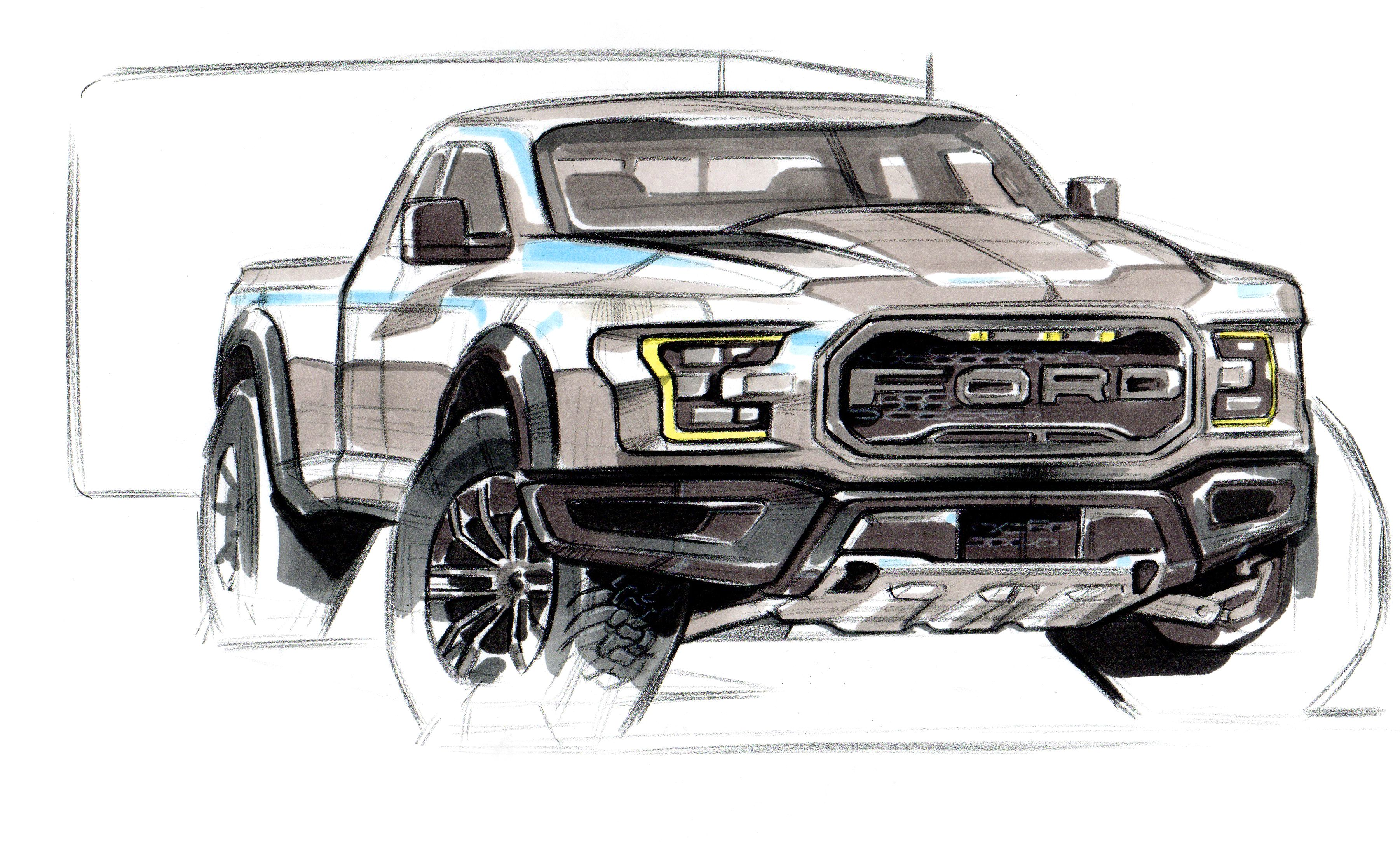 Ford sketch by michael han