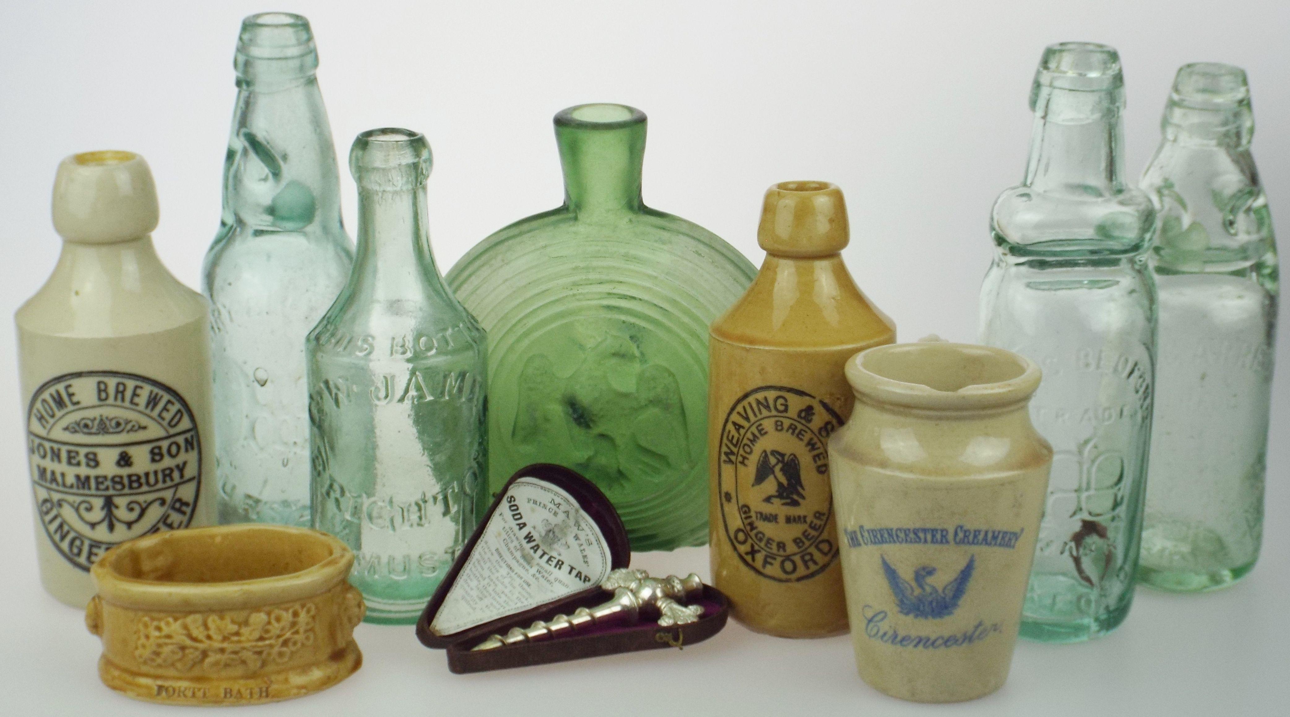 Antique bottles 196 august stratford on avon