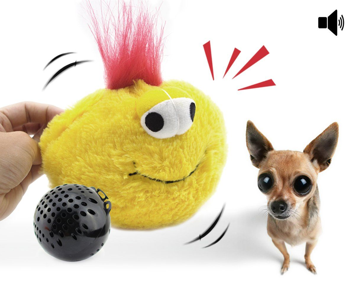 Yogadog Interactive Plush Squeaky Dog Toys Crazy Bouncer Electronic Motion Pet Toy For Prevent Boredom Check Out The Im Pet Toys Best Dog Toys Dog Toys Gift