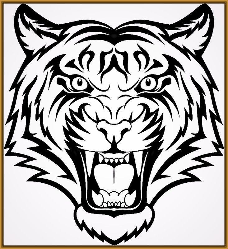 Resultado De Imagen Para Tigres Para Dibujar Dibujos Tatuajes
