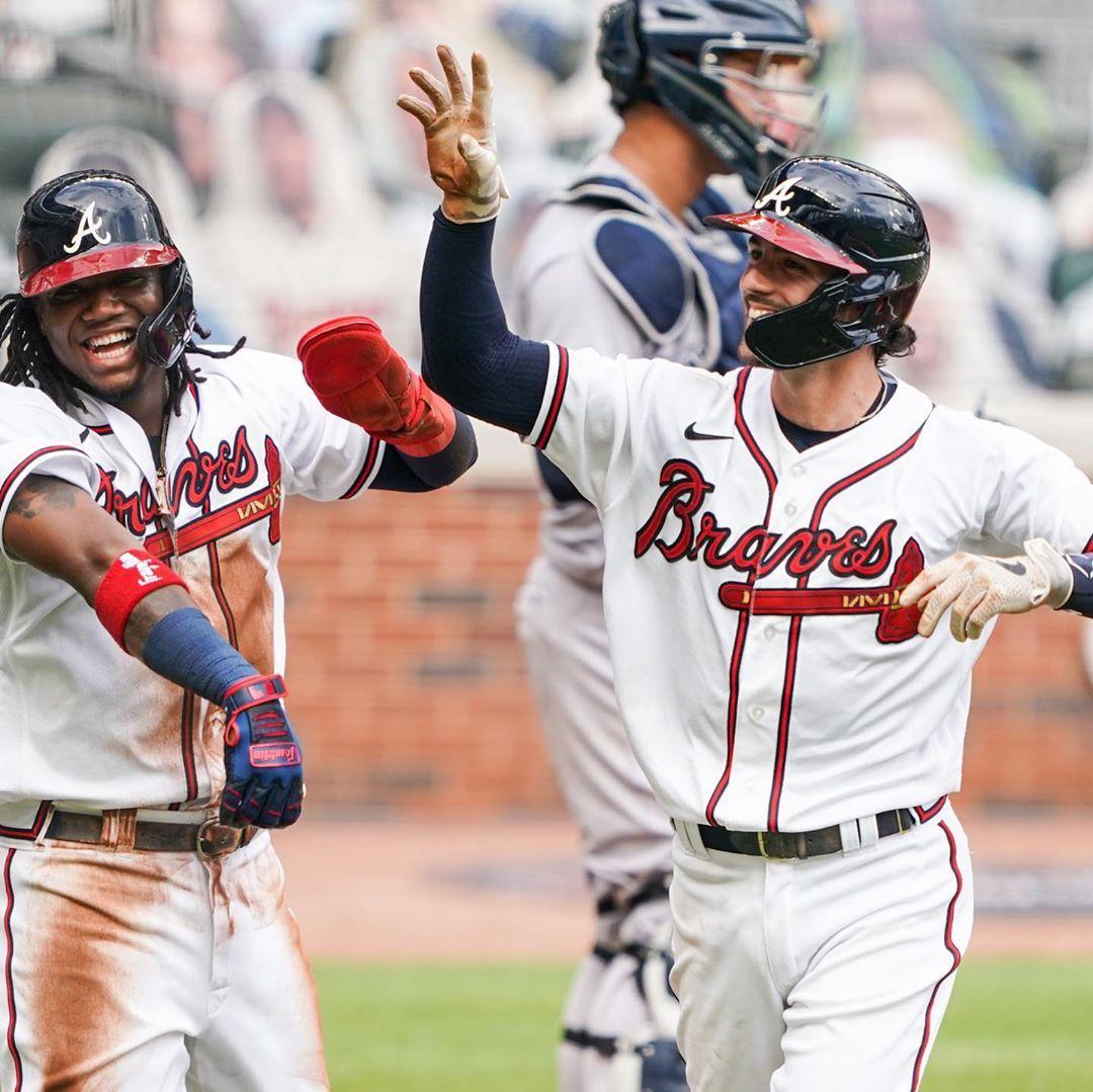 Atlanta Braves Dingers By Dansby In 2020 Atlanta Braves Braves Atlanta