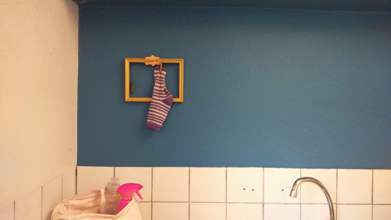 Saknade strumpor i tvättstugan