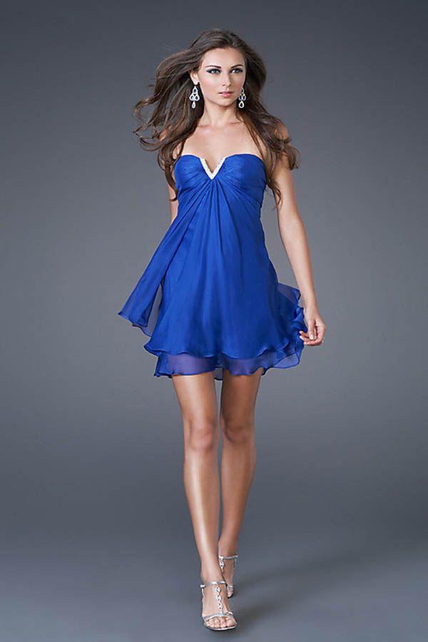 photo robe bleu roi