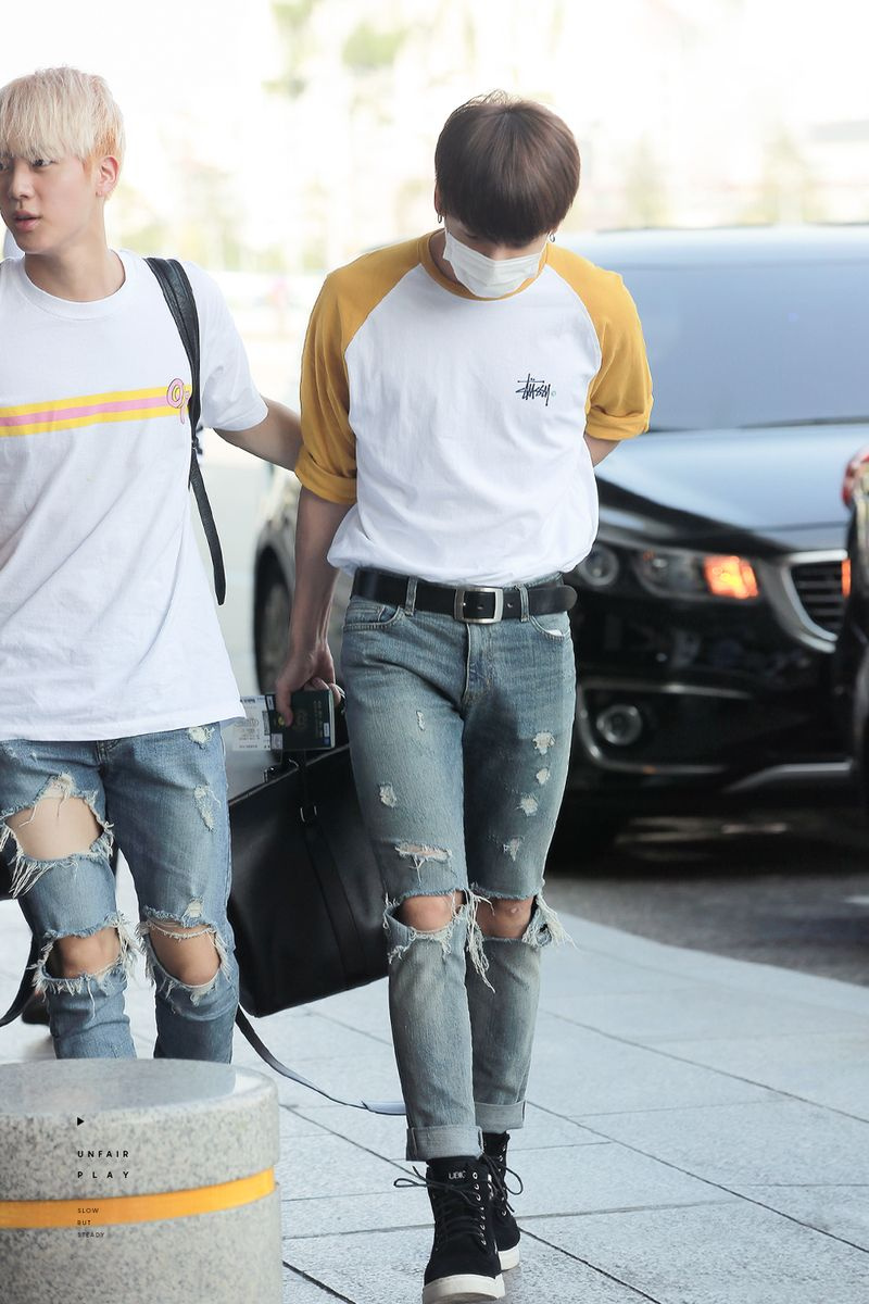 160812 | Jungkook Airport Fashion | Kpop Idol Fashion | Pinterest | Airport Fashion Idol And K Pop