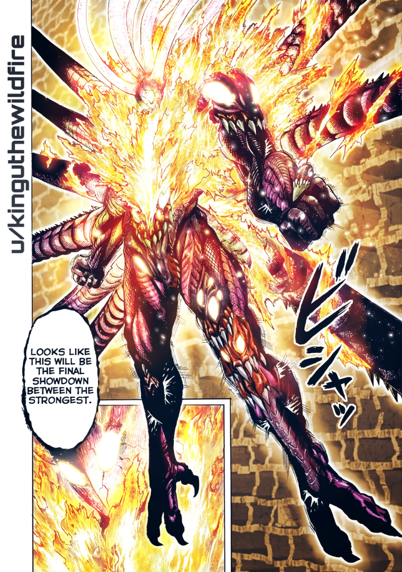[Manga Spoilers] I coloured that EPIC Orochi panel