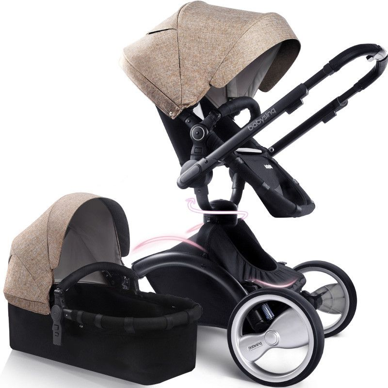 baby car seat bassinet portable baby prams cradle style folding baby stroller pushchair bambino. Black Bedroom Furniture Sets. Home Design Ideas