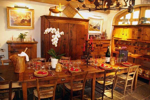 Table d'hôte ou Restaurant gastronomique Chamonix - Les Chalets de Philippe