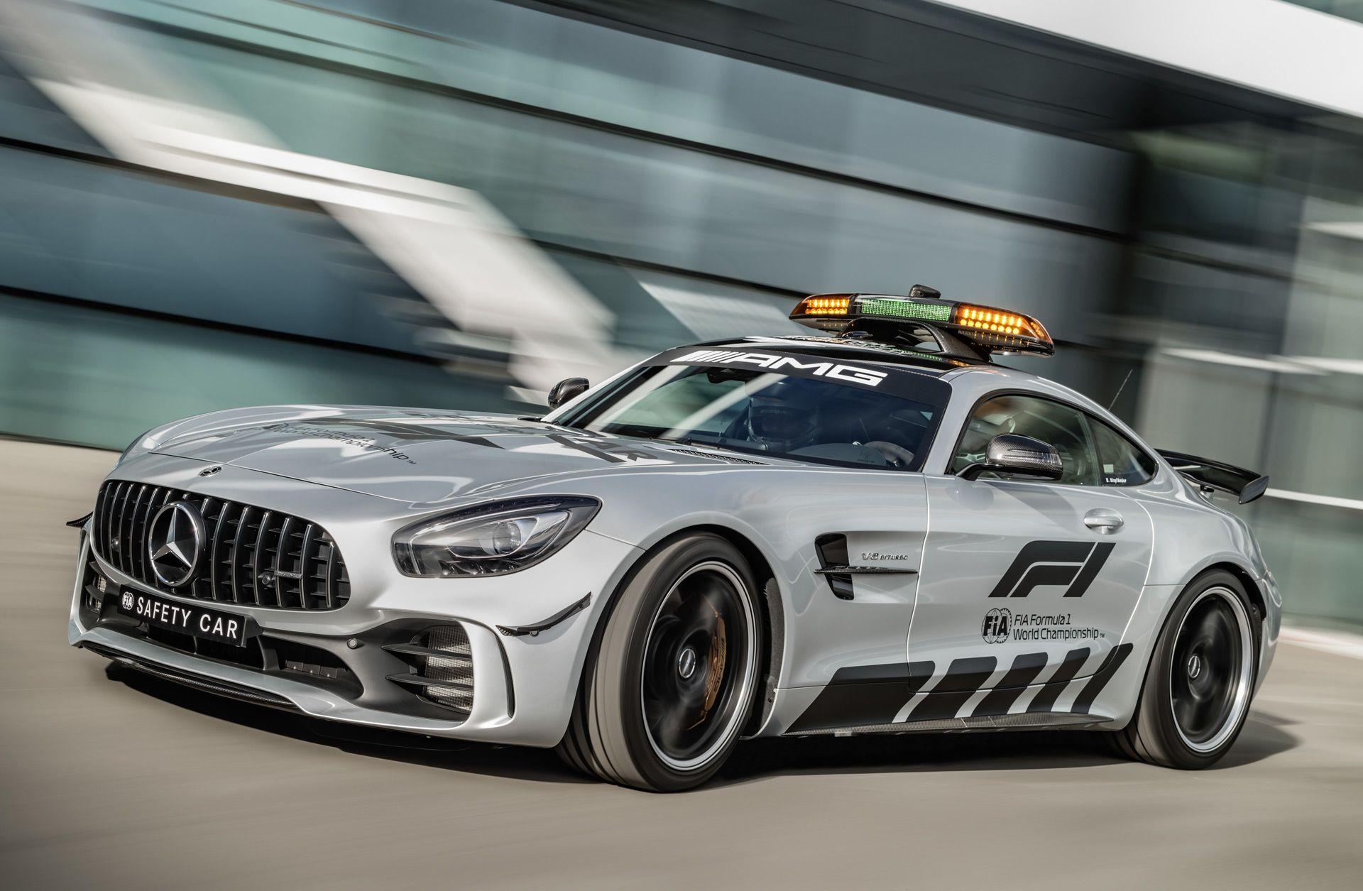2018 MercedesAMG GT R is F1's fastest safety car yet
