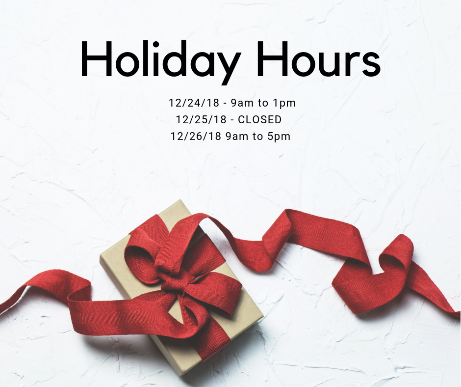The Arbor Pointe Office Updated Holiday Schedule