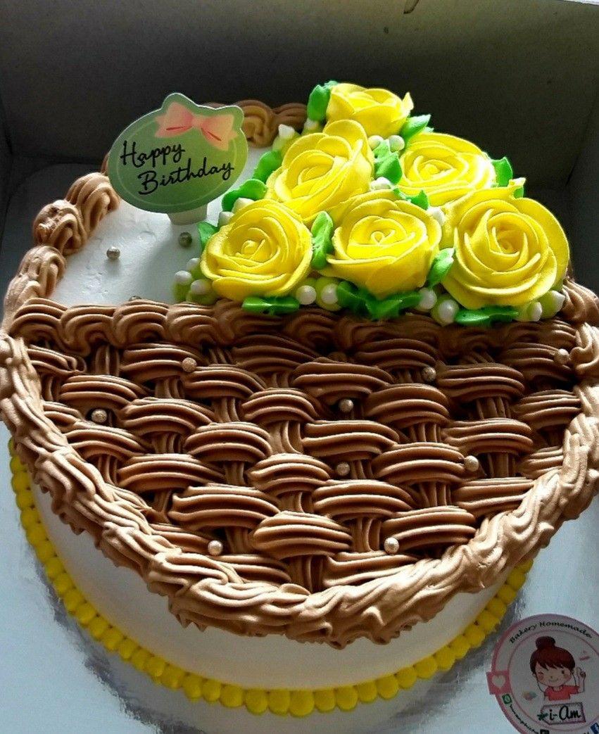 mini flowercake.