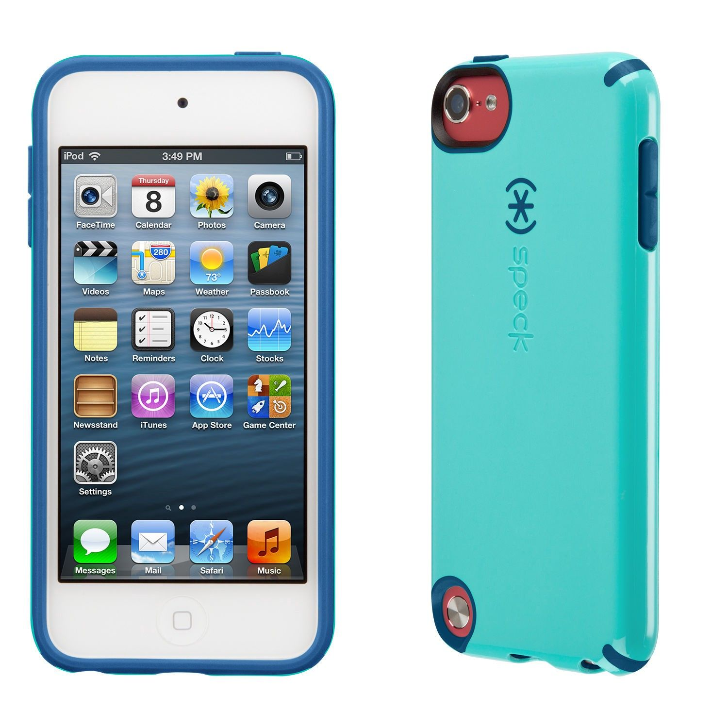 separation shoes 7662e 64e7b Speck Candyshell Ipod Touch 6G & 5G Cases - Caribbean Blue/Deep Sea ...
