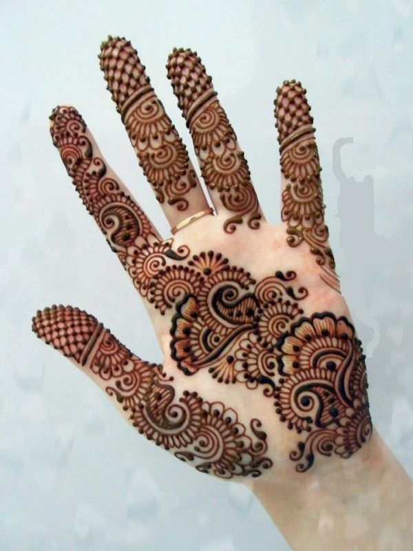 arabic stylish mehndi design