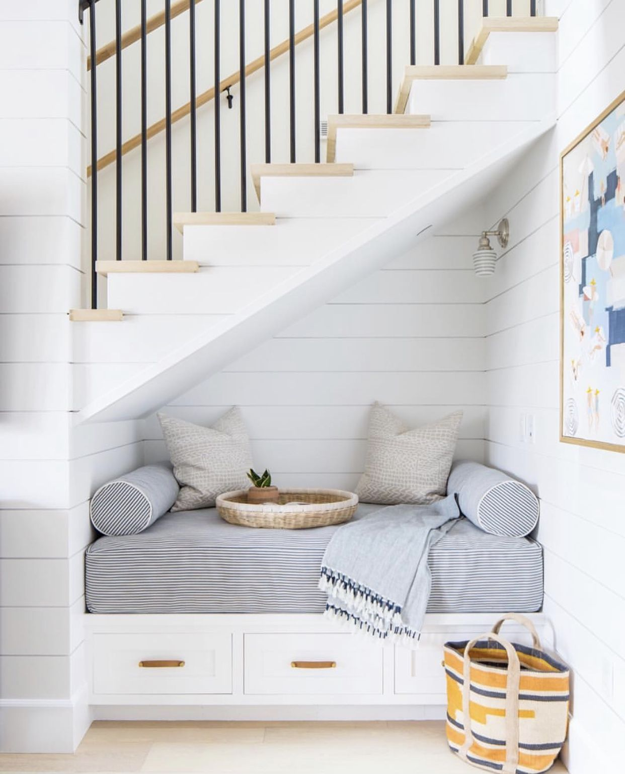 26 Incredible Under The Stairs Utilization Ideas: Pin By Amanda Chando On Trim Detail