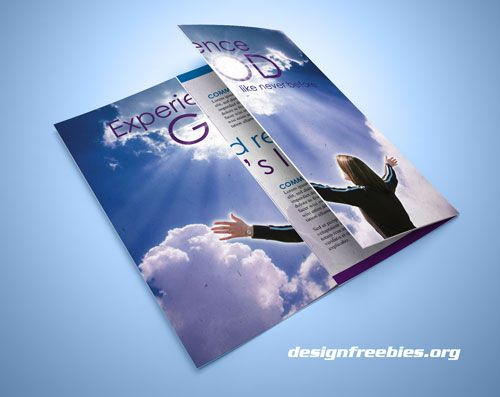 free indesign church brochure template