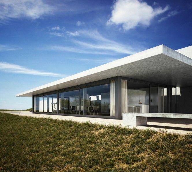 Exterior House Design Programs: 3D Adaptation Of Architect Bruno Erpicum's Labacaho House
