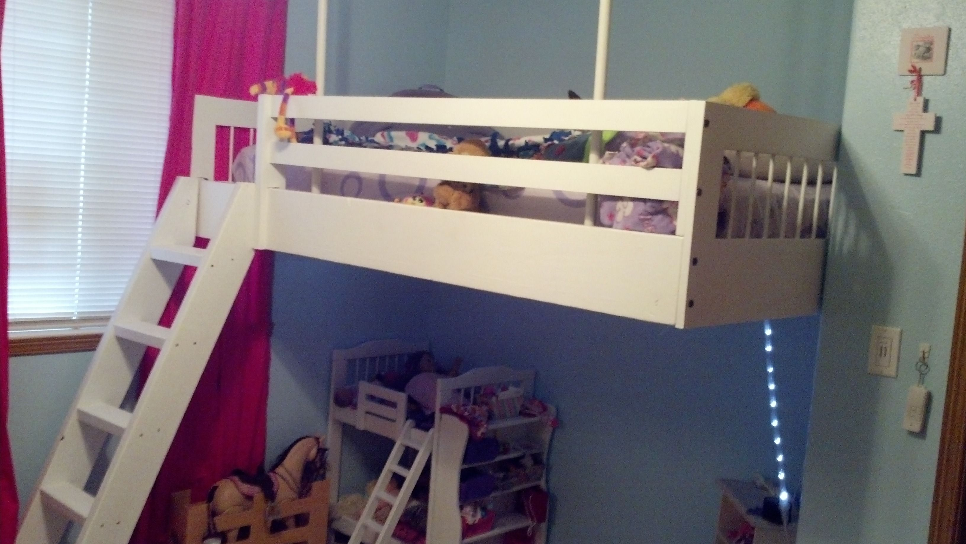 Loft Bed Do It Yourself Home Projects From Ana White White