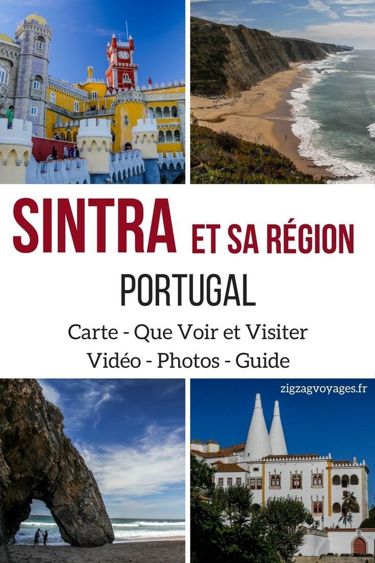 A Seulement 30min De Lisbonne La Region Sintra Portugal Et Le Parc Cascais Offrent Des Sites Culturels Naturels Exceptionels Palais