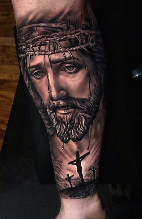 Jesus Tatoos : jesus, tatoos, JESUS