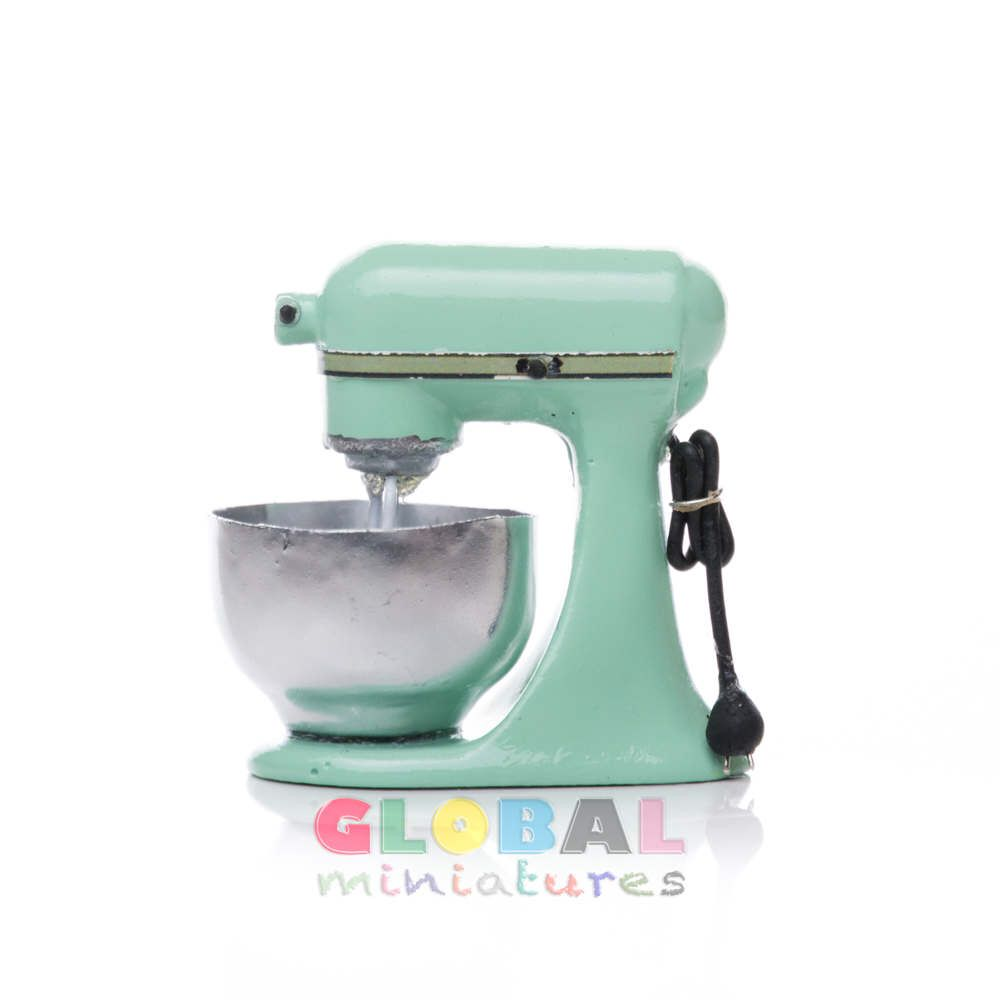 Dollhouse Miniature Pastel Green Kitchen Aid Mixer by ...