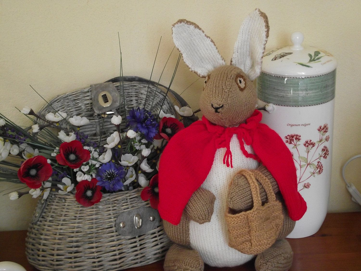 beatrix potter flopsy knitted | knit doll- | Pinterest | Dolls and ...