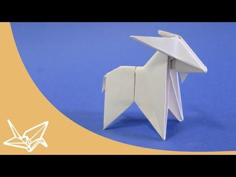 Origami Goat Instructions Peterpaul Forcher Youtube Ideas To
