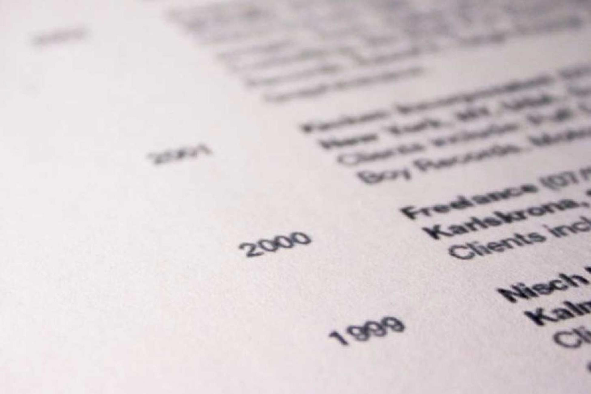 How to Write an International Resume Resume, Cv for