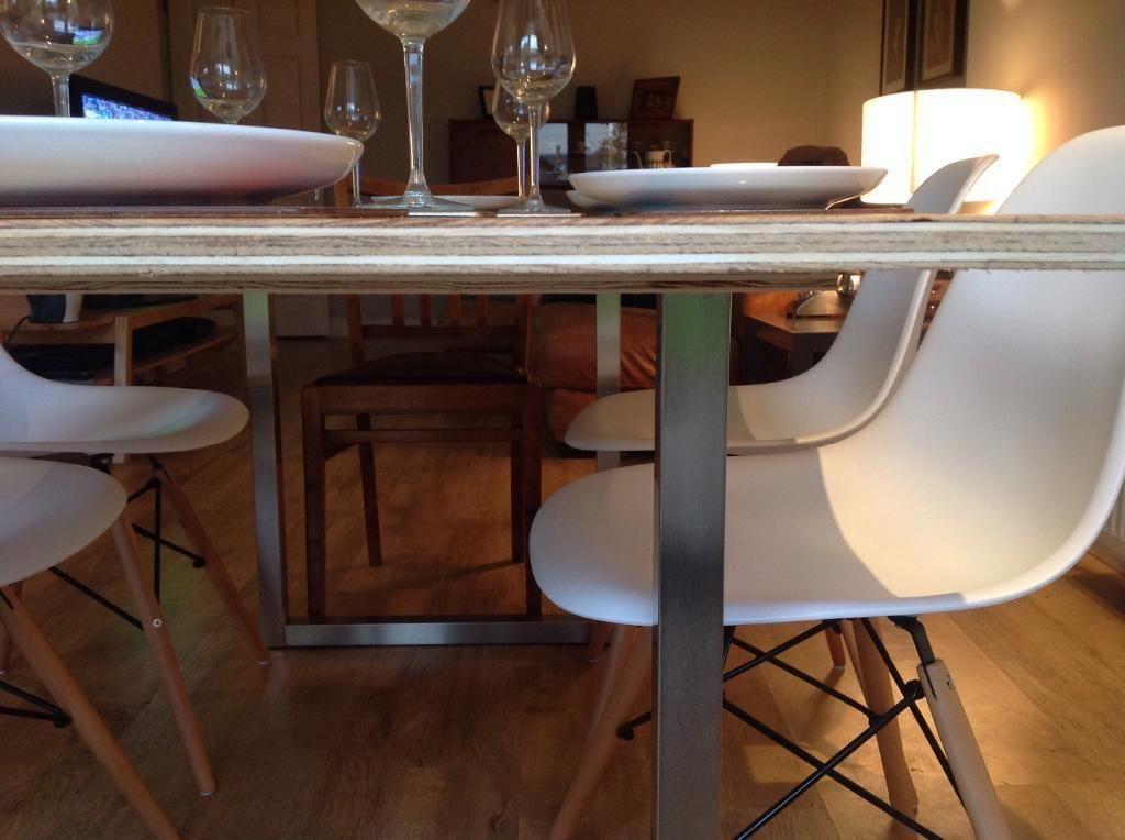Bespoke Dining Table Industrial Loft Modern Style 4 6 6 8 8 10