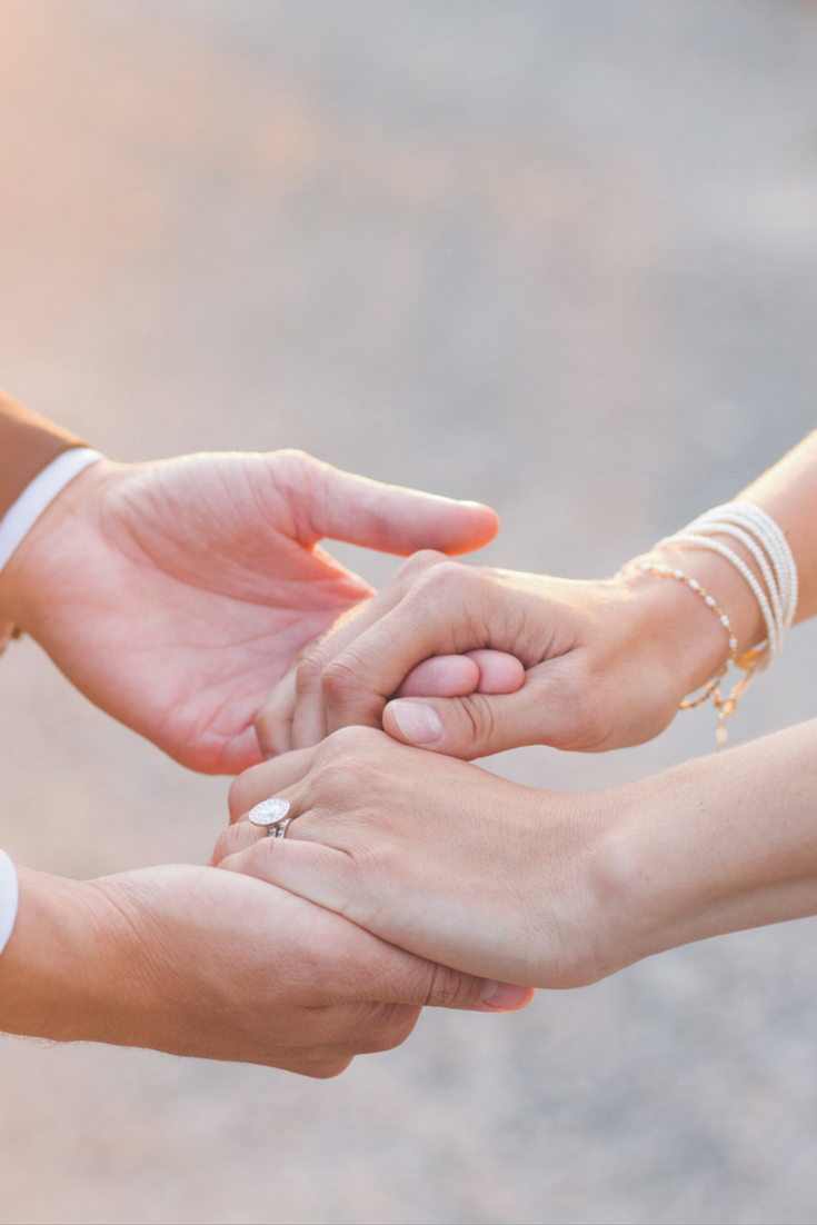 joined together | I do- | Pinterest | Vintage bridal, Bridal rings ...