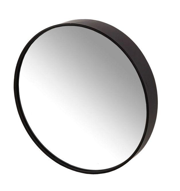 Lustro Okragle W Czarnej Ramie 40 Cm Mirror Table Mirror Decor