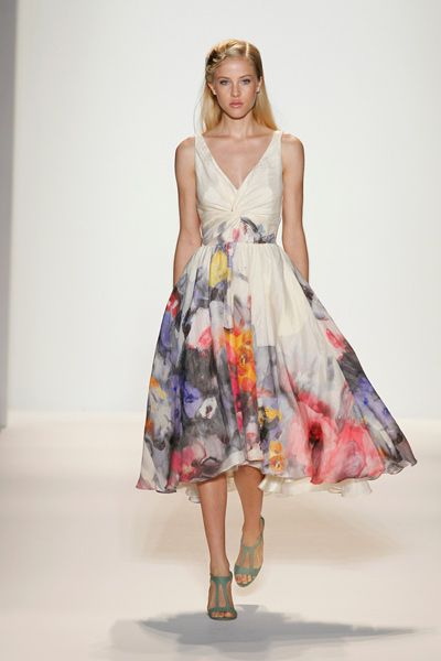 Perfect summer dress.    Spring 2012 Collection. Look 24 lelarose.com