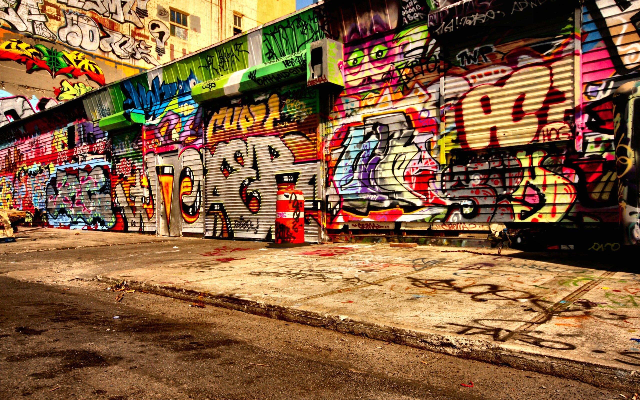 Graffiti art wallpaper - Graffiti Street Art Wallpaper