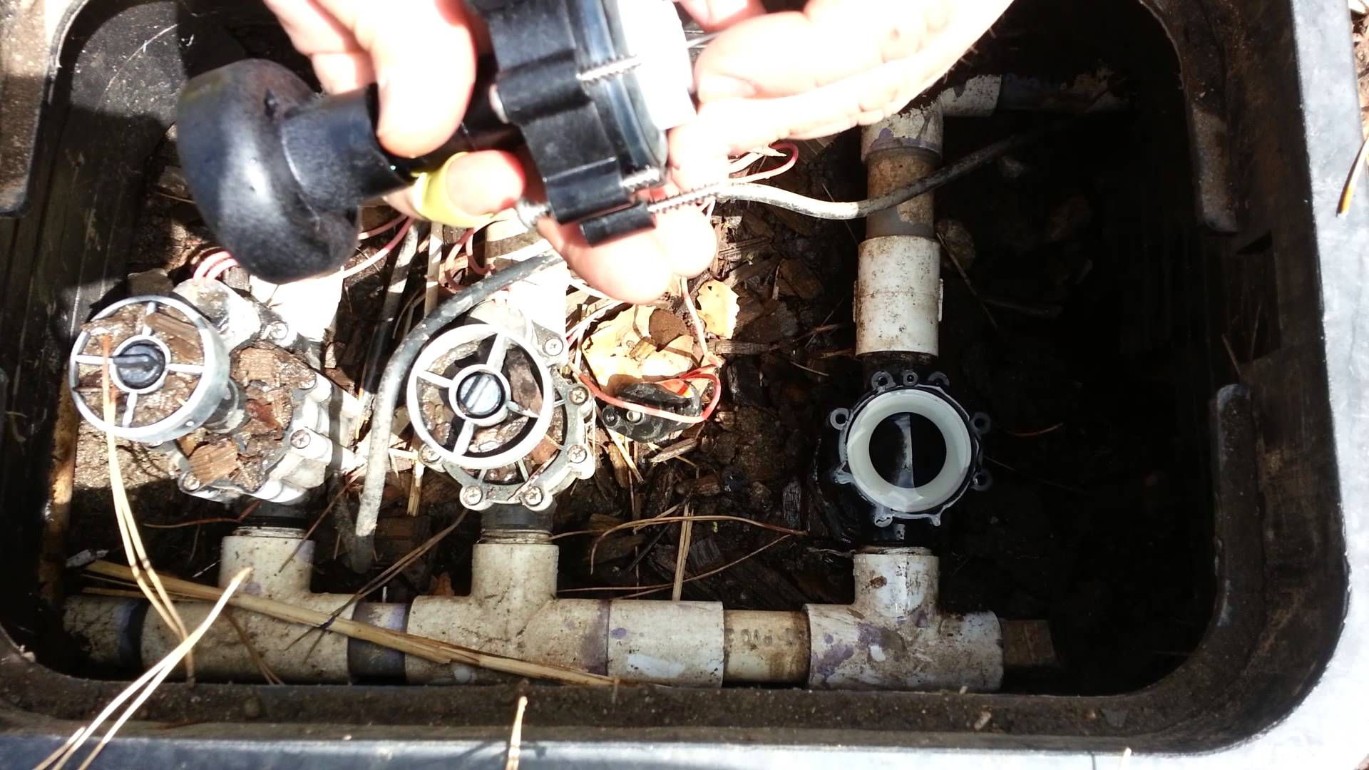 How to fix sprinkler valve that wont shut off sprinkler