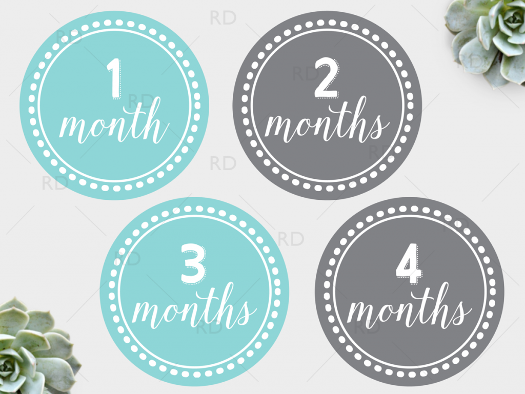 free printable baby monthly dots months 1 through 12 just download and print to pose with your baby