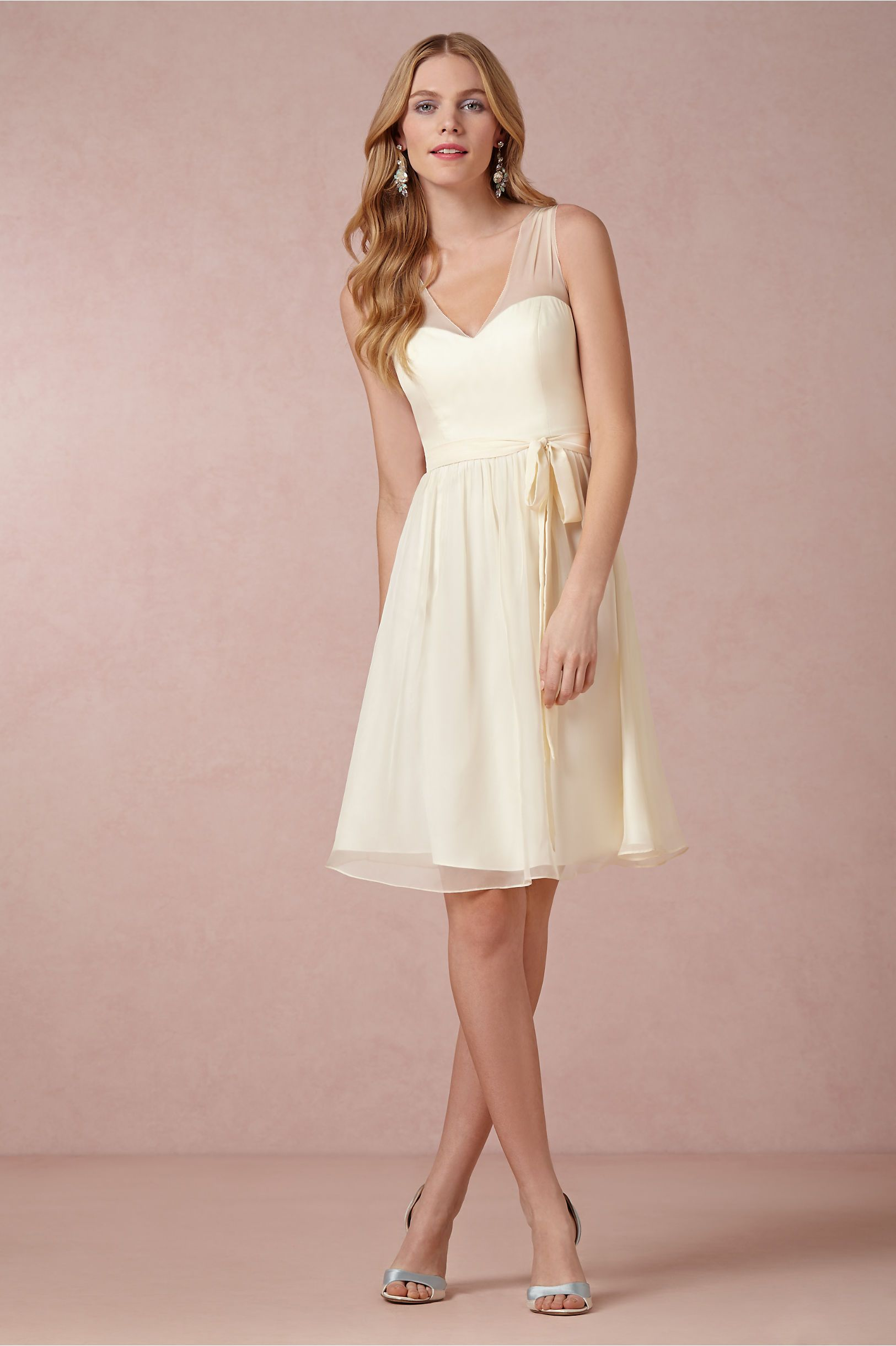 cute bridesmaid dress | Cynthia | Pinterest | Vestidos blancos ...
